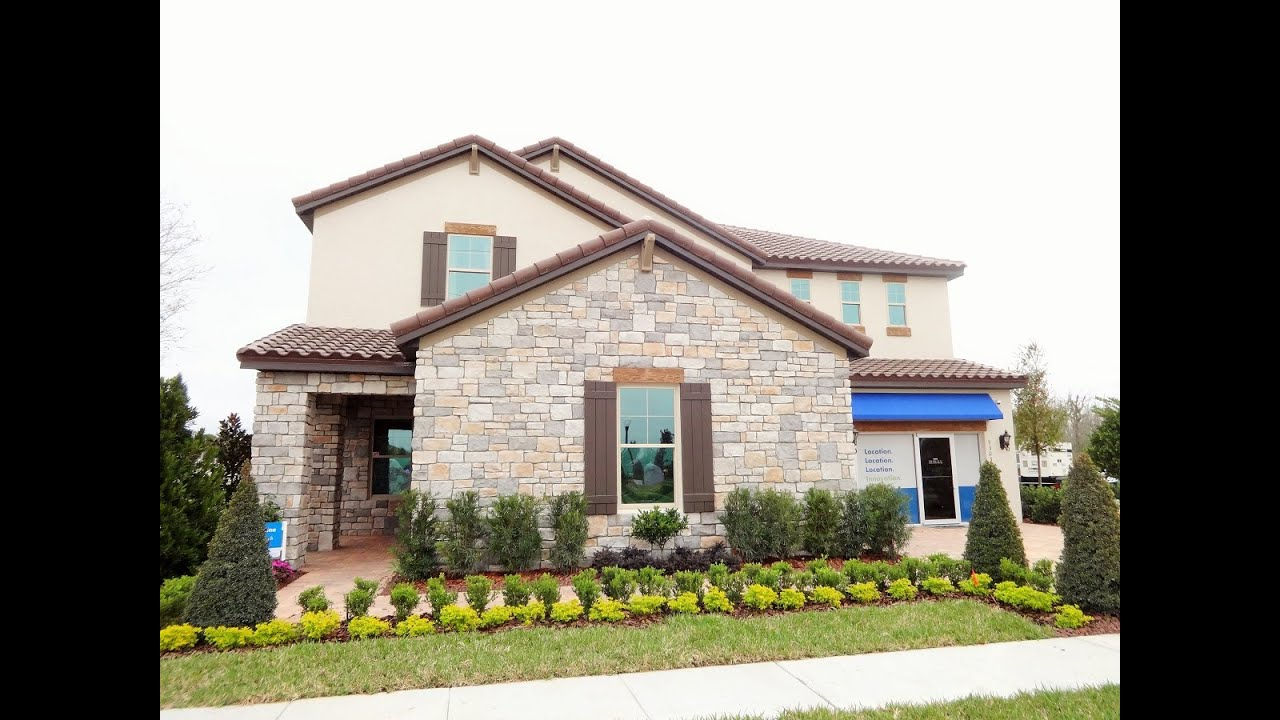 Watermark by meritage homes in winter garden jasmine for Home by home
