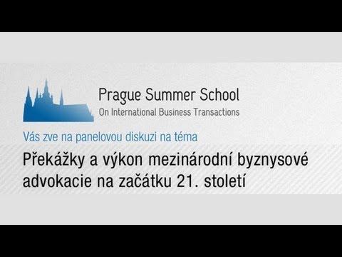 Prague Summer School - živý přenos panelové diskuse 17.7.2013