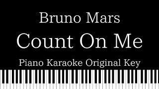 Download Lagu 【Piano Karaoke Instrumental】Count On Me / Bruno Mars【Original Key】 mp3