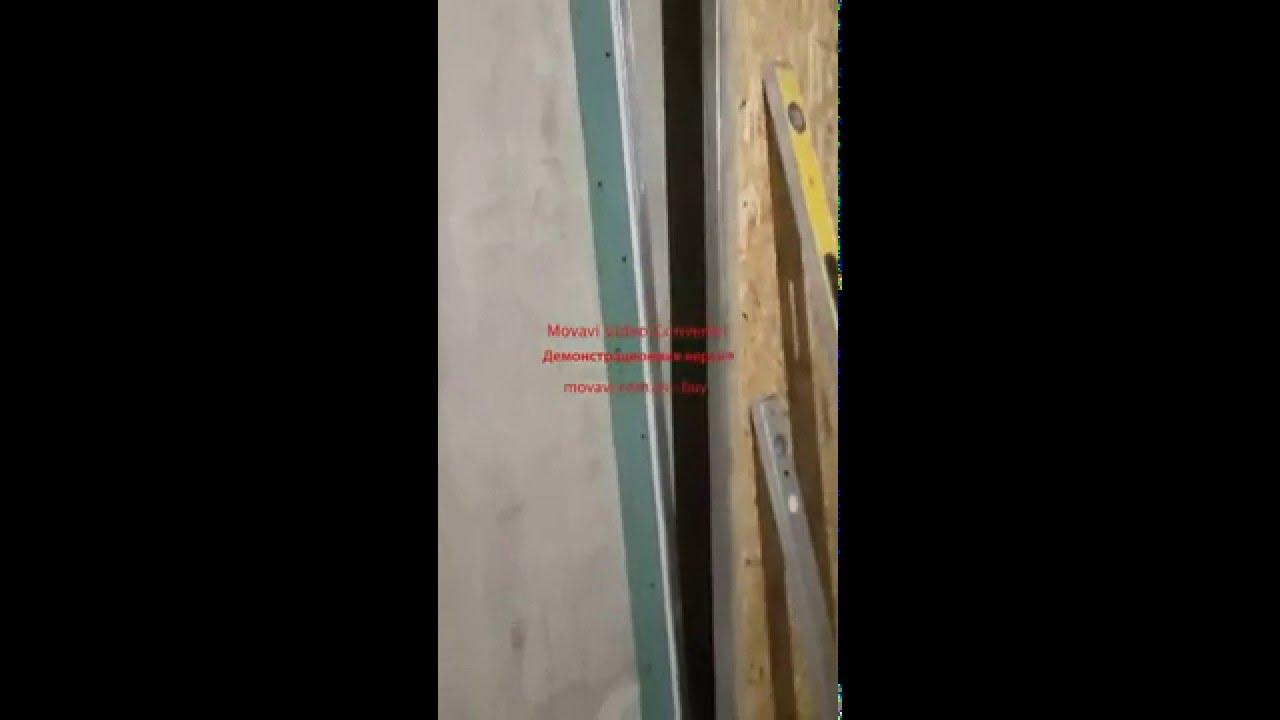 Монтаж устройство потолка из Гипсокартона ГКЛ Кнауф своими руками .