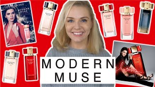 ESTEE LAUDER MODERN MUSE PERFUME RANGE REVIEW | Soki London