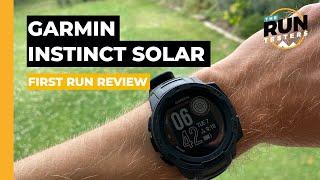 Garmin Instinct Solar First Run Review: Solar power comes to Garmin's rugged outdoor watch