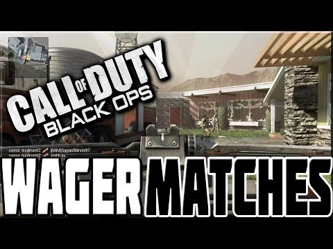 PLAYING BLACK OPS WAGER MATCHES IN 2017!