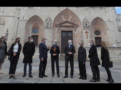 Visita de la Embajadora de Israel a la Catedral de Burgos