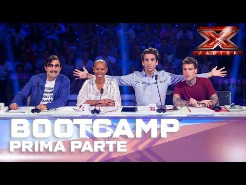 X Factor in 3 minuti: HIGHLIGHTS Bootcamp parte 1
