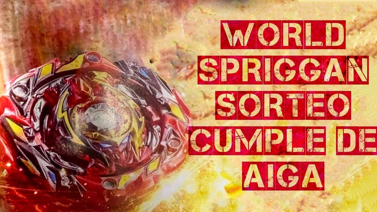WORLD SPRIGGAN SORTEO Y CUMPLEAÑOS DE AIGA