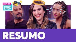 RESUMO DA SEMANA | Tatá Werneck, Taís Araújo, Rodrigo Santoro e mais! | Lady Night | Humor Multishow