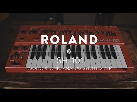 Roland SH-101 Monophonic Analog Synthesizer | Reverb Demo Video