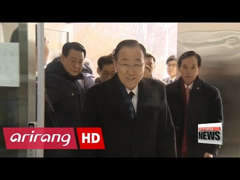 Ban Ki-moon visits National Cemetery on first day back in Korea