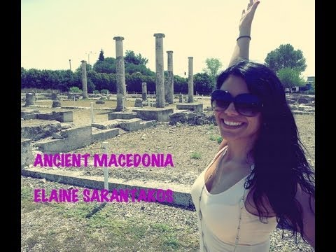 Ancient Macedonia Travel  - Pella with Elaine Sarantakos