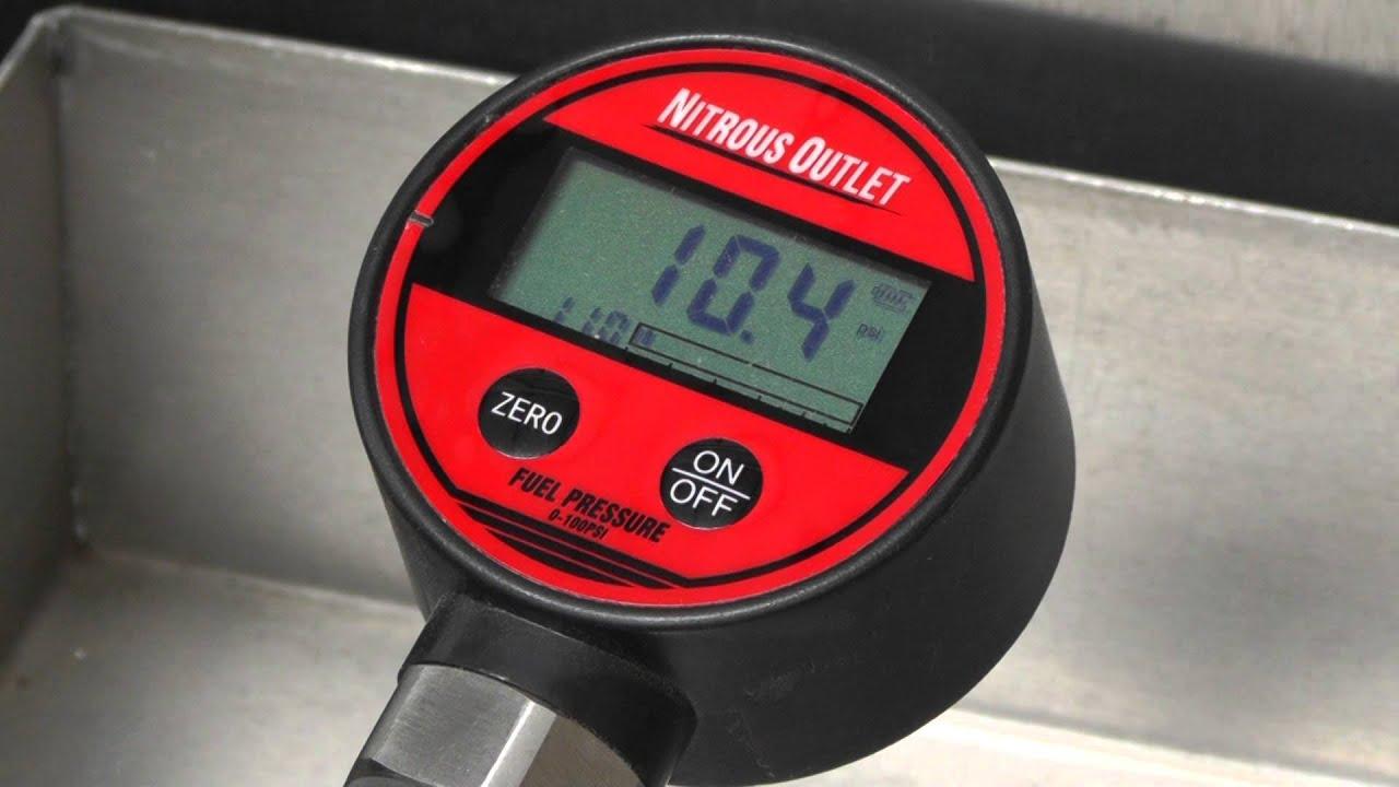 Gas Gauge Not Working >> Nitrous Outlet Digital Fuel Flow Gauge - YouTube