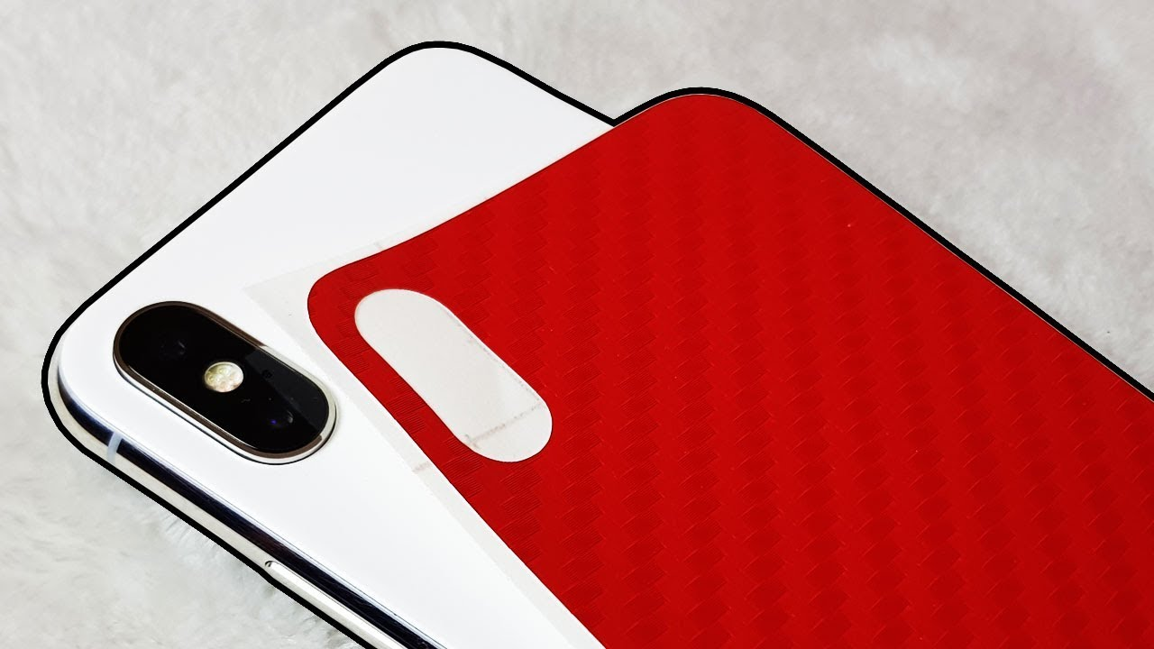 promo code d6ff3 7e194 How to Wrap iPhone X! No More Fingerprints!