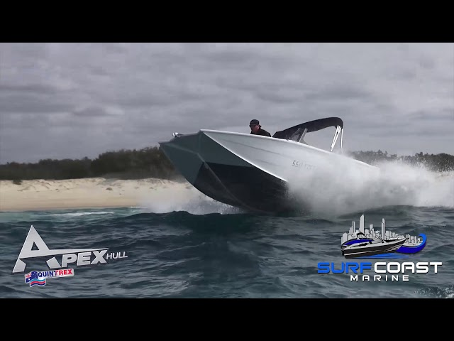 Quintrex Apex Hull in Offshore conditions