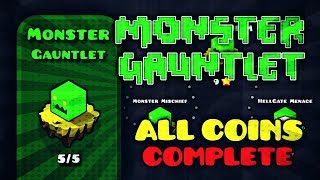 """MONSTER GAUNTLET"" [ALL LEVELS & ALL COINS] 100% COMPLETE 
