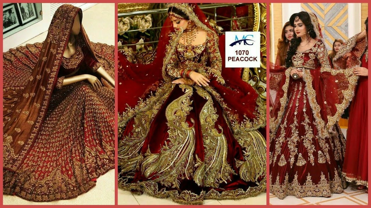 Latest Bridal Lehenga Designs 2020 2021 Youtube
