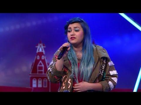 Nathalie Blue zingt 'Hello' van Adele  - HOLLAND'S GOT TALENT
