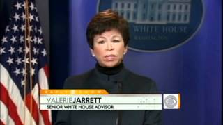 Advisor Valerie Jarrett on President's Message