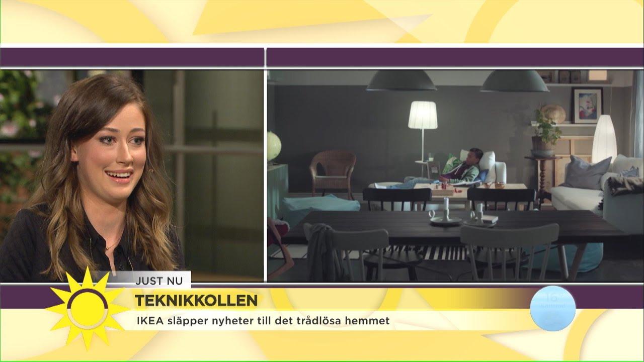 """Så ser nya trådlösa hemmet ut: """"Snart kan du prata med dina rullgardiner""""- Nyhetsmorgon (TV4)"""
