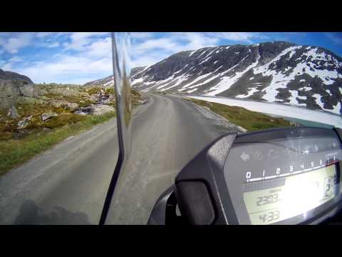 Honda nc750sd Norge - Strynefjellet väg 258