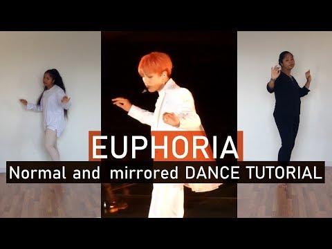 [Mirrored Tutorial + Cover] Euphoria - BTS (방탄소년단) Dance
