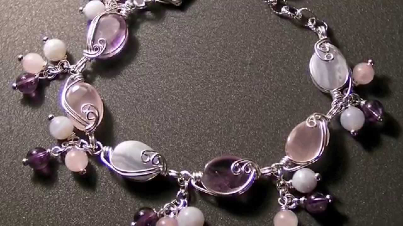 Wire Wrapped Jewelry Designs Gallery YouTube