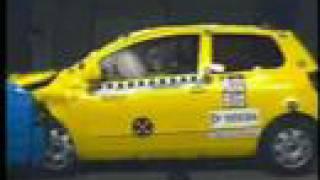 Crash-test de carros brasileiros