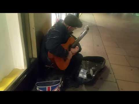 Amazing Spanish music in Oxford st London