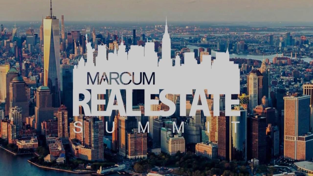 Marcum Real Estate Summit - October 29, 2018 | Marcum LLP Events