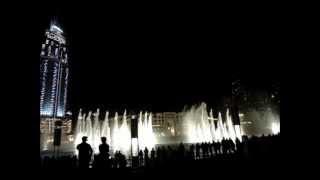 DANCING FOUNTAINS DUBAI - Dubai Mall, Burj Khalifa - Water Dances to Arabic Music