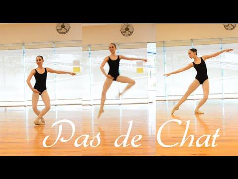 Ballet ❤❤ Pas de Chat / Tutorial de saltos / Perfecta de Pies a Cabeza (Dani Zilli)