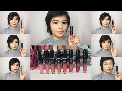 Review: QL Cosmetic Lip Cream Matte Full Shades