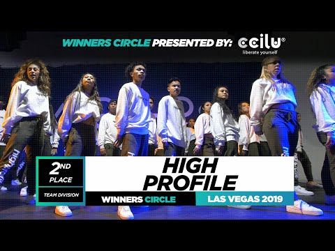 High Profile | 2nd Place Team | Winners Circle | World of Dance Las Vegas 2019 | #WODLV19