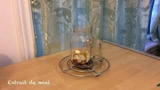 Extraction de parfum par distillation à la vapeur d'eau