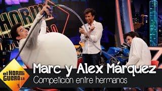 Competición entre Álex y Marc Márquez en El Hormiguero 3.0