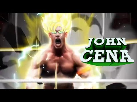 John Cena Super Saiyan || Skrillex Bangarang Remix 1h HQ