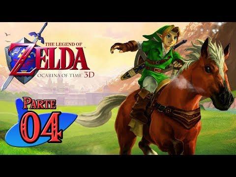 Zelda Ocarina of Time 3D Guía 100% (HD) #4 Templo del Bosque y Biggoron Sword