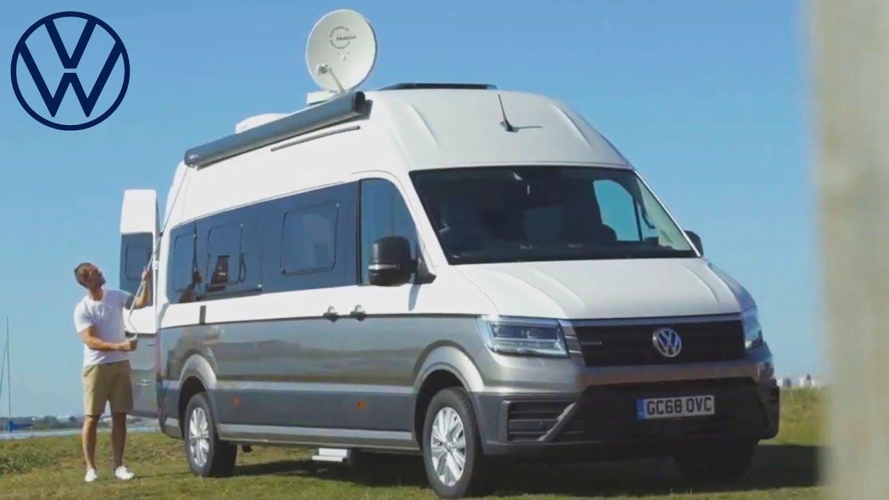 2020 Volkswagen Grand California Camper Van 680 Trailer Youtube