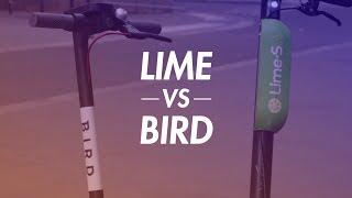 Lime VS Bird : quelle trottinette en libre-service est la meilleure ?