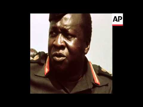 SYND 10-8-72 UGANDAN PRESIDENT, IDI AMIN, MAKES CLEAR HIS DECISION TO EXPELL ASIANS