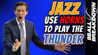 JAZZ Use HORNS To Play The THUNDER