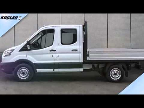 ford transit transit doka pritsche 350 l2 4x4 34 youtube. Black Bedroom Furniture Sets. Home Design Ideas