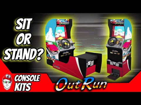 Arcade1up is releasing Outrun Sit down and Standup cabs! from Console Kits