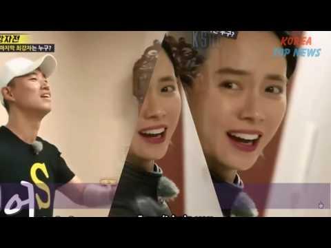 RUNNING MAN Song Ji Hyo Happy Smile Reunite Kang Gary - The Glance Of Love