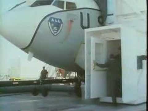 Laser mounted on Boeing 707