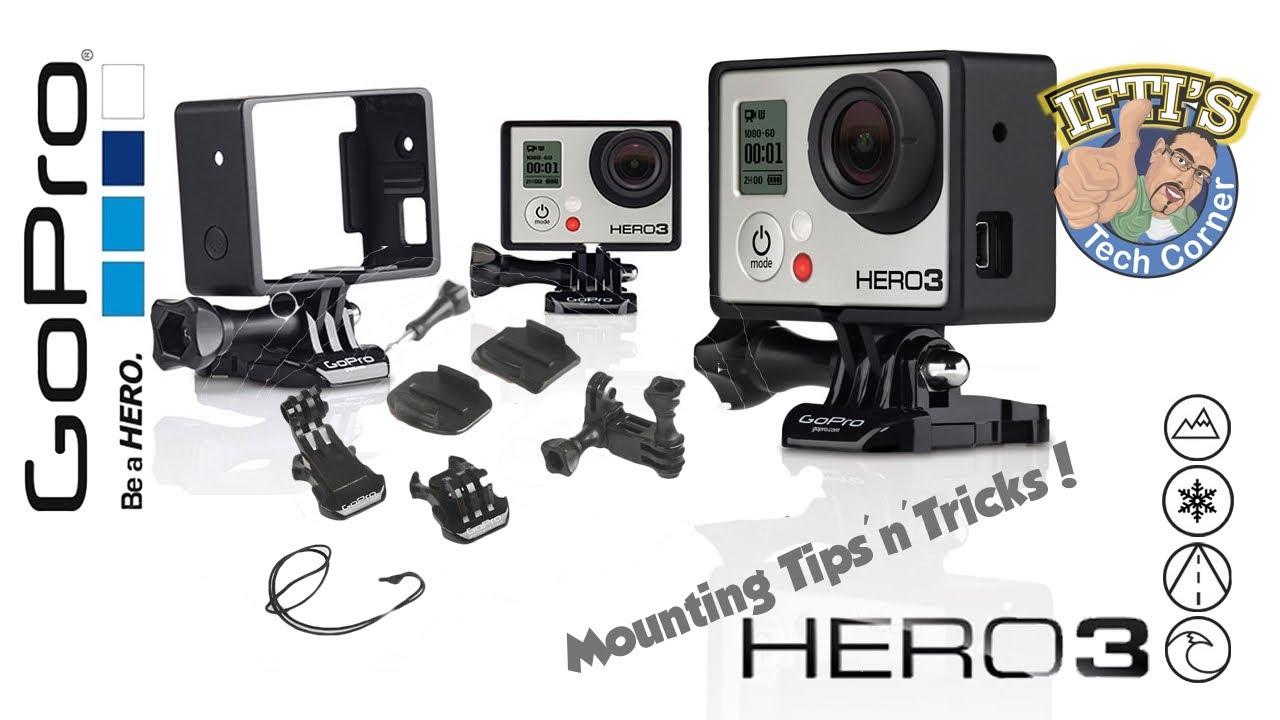 Gopro Hero 3 Mounting Tips Tricks Youtube