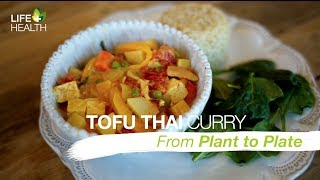Creamy Tofu Thai Curry