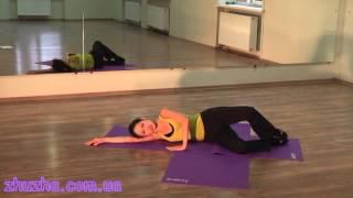 видео упражнения по пилатесу