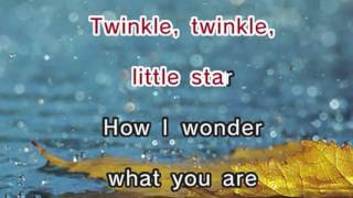 Twinkle Twinkle Little Star - Nursery Rhyme (Karaoke and Lyrics Version)