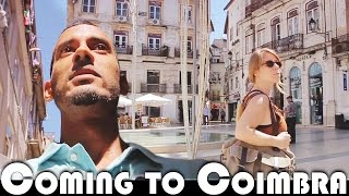 COMING TO COIMBRA - MOVING TO PORTUGAL DAILY VLOG (ADITL EP343)