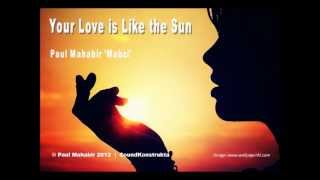 Instrumental guitar - Your Love is Like the Sun - by Paul